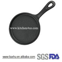 Mini cast iron fry pan