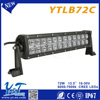 Factory selling military led light bar car light bar 72w light bar for off-road vehicles for electric scooter offroad
