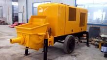 concrete construction mechanical appliance 40m3/h output 10Mpa pumping pressure 85kw engine power