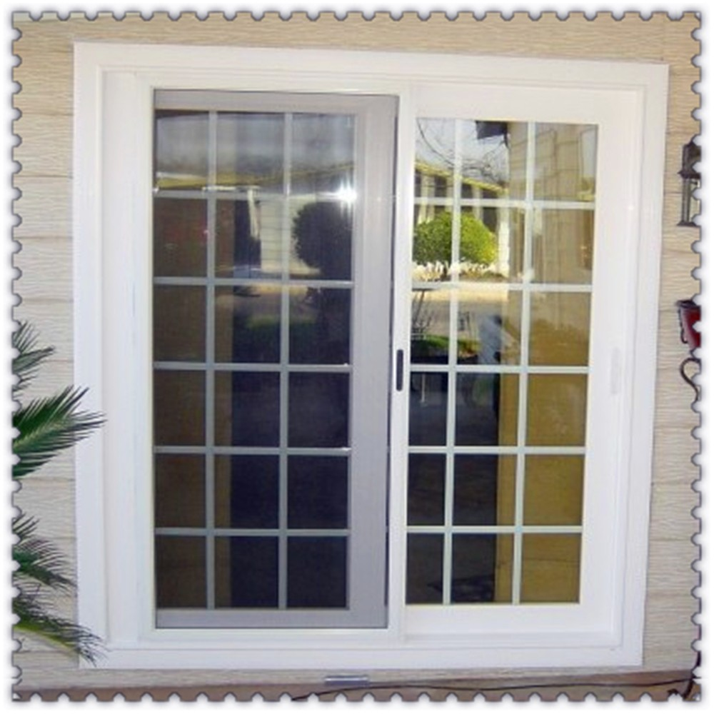 Cheap aluminium french windows with grill design for sale for French window