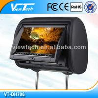 """ViewTech 7"""" high quality head rest dvd"""