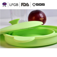 High quanlity Tableware Food Container Foldable Silicone Bowl