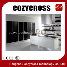 Made in China Black Glass Panel Heater with CE ROHS ISO9001