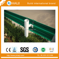 galvanized steel crash barrier made in China with impact resistance feature 4320*310*2.75-4.0 mm