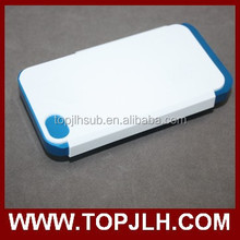 2 in 1 Double Protective Fashion bumper 3D 2 in 1Case Cover for iphone 4/4S