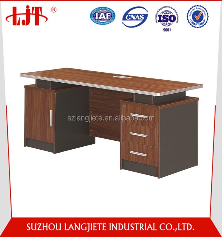 cheap price furniture modern simple design computer table desk laptop
