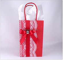 2015 valentine top selling decorative paper bag for gift