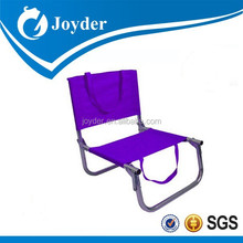 2015 new outdoor furniture adjustable seats portable purple beach chair