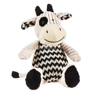 Cow knitted soft plush toy by /Cow soft plush toy farm animal