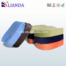 libre de la muestra hemorroide masaje cojín del asiento con el último diseño de la cubierta del amortiguador