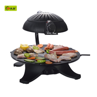Convenient to cook homemade infrared electric bbq grill