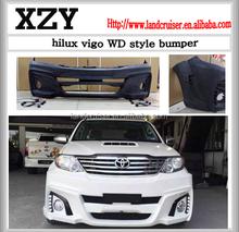 WD style front bumper for Hilux Vigo 2012