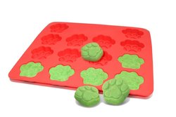 Silicone Homemade Dog Treat Maker Cake Pans -& Recipe Guide - 12 x 10 inch
