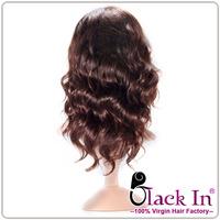 100% human hair Natural Looking half wigs virgin hair