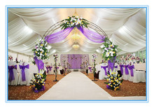 Charming wedding marquee party tent with beautiful party decoration