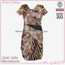 Garment Factory From shenzhen China digital printed elegant dresses for women