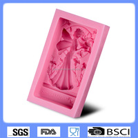DIY cake baking tool girl Angel silicone fondant mold chocolate mold CD-F422