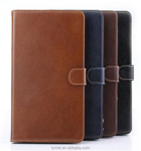 Genuine Luxury Real Leather Stand Smart Case Cover For iPad Mini 1/2/3