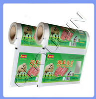 Packaging roll film for lamb chops