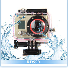 RD990 Waterproof 60m Sports Action Camera WiFi 1080P Full HD Mini DV 170 Degree Wide Angle Outdoor Camcorder