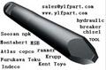 유압 차단기 끌 earthmoving 장비의 b6560 굴삭기 부품, hb280, hb380, hb580, hb680, hb880, hb980, hb1180, hb2380, b290,