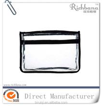 benutzerdefinierte anzeige klar kunststoff kosmetiktasche mit rei verschluss. Black Bedroom Furniture Sets. Home Design Ideas