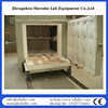 Electric Industrial Furnace 1200C car bottom trolley furnace