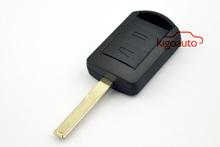 Flip Key shell HU43 2button remote key housing for Opel