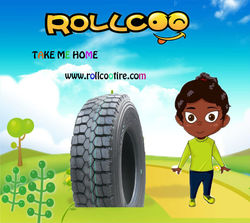 Radial Truck tyre with excellent quality for medium and short distance