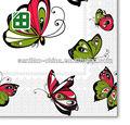 decoupage parte de papel servilletas almuerzo románticos mariposas servilletas de servilletas