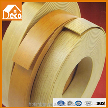 ABS edge banding/soild color edge banding/low gloss finish cloth tape