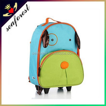 wholesale good quality cheap cartoon animal kids backpack luggage