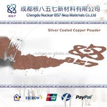 flake silver plating copper powder price china average size 1-100um,plastic additive