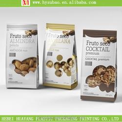 hot sale plastic packaging bag for food, fast food packaging pouch, fine plastic bag for dog food