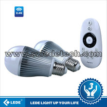 IOS, Android system controller bombilla LED Auto via wifi transmit device for 2013