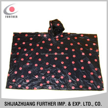 R-1020K-2012 new product azo free pvc vinly school bag durable black full printed kids rainproof one piece cap polular ponchos