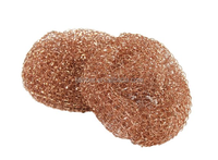 100% pure copper mesh scourers,copper scouring pads,copper scrubber