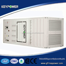 Powered by Mitsubishi, container genset, 50/60hz 692kva, silent type, best quality, ce iso certified