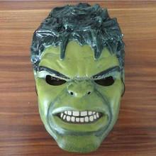 Factory wholesale price Marvel Avengers Assemble Movie the Hulk hero Mask