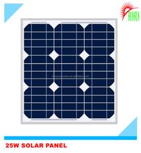 25W Mono/Poly solar panel