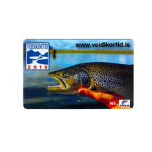 Printed SVFR.IS Business Card