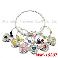 WM-10207 Factory supply unique design wine charm gift set promotion for wholesale