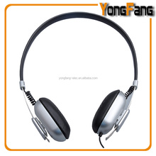 2015 new products custom logo wired folding headphone