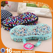 Protective Portable garment packaging EVA Case travel bra Bag for Underwear Lingerie