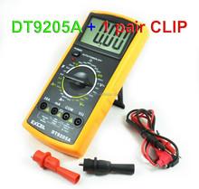 M011 Digital Multimeter Brands DMM DT9205A 1999 LCD AC/DC Ammeter Resistance Capacitance