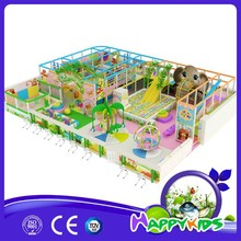 Cute fun indoor playground, kids play system, kindergarten equipment