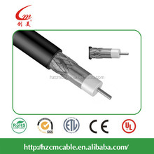 satellite TV Al foil and braiding shielding CATV CCTV RG6 Coaxial Cable