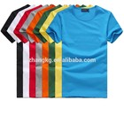 Agradável e t-shirt de algodão de moda t-shirt de algodão confortável