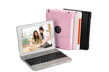 Wireless bluetooth keyboard case for ipad air,Aluminum keyboard for iPad air