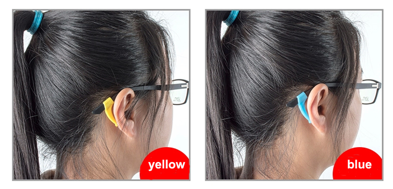 36mm wholesale adjustable silicone eyewear retainers sunglass strap silicone sun glasses ear hook
